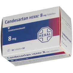 CANDESARTAN HEXAL 8 mg Tabletten