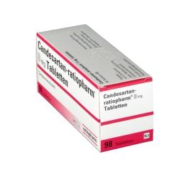 CANDESARTAN ratiopharm 8 mg