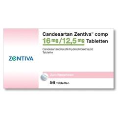 CANDESARTAN Zentiva comp 16 mg/12,5 mg Tabletten