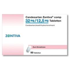 CANDESARTAN Zentiva comp 32 mg/12,5 mg Tabletten