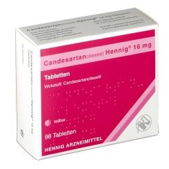 CANDESARTANCILEXETIL Hennig 16 mg Tabletten