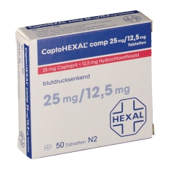 Captohexal comp. 25/12,5 Tabletten