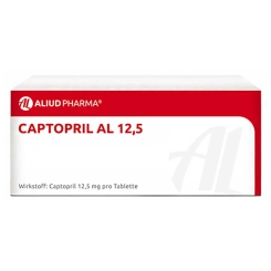 Captopril Al 12,5 Tabletten