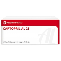 Captopril Al 25 Tabletten