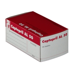 Captopril Al 50 Tabletten