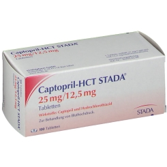 Captopril Hct Stada 25/12,5 Tabletten