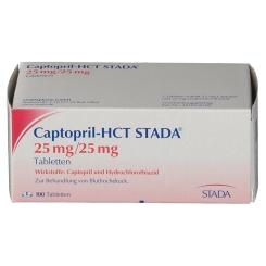 Captopril Hct Stada 25/25 Tabletten