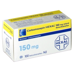 CARBAMAZEPIN HEXAL 150 mg retard Tabl.