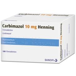 Carbimazol 10 mg Henning Filmtabl.