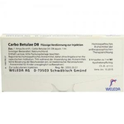 Carbo Betulae D8 Ampullen