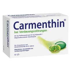 Carmenthin® bei Verdauungsstörungen