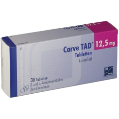 Carve Tad 12,5 mg Tabl.