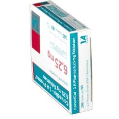 Carvedilol 1a Pharma 6,25 mg Tabletten