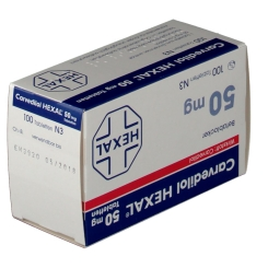 Carvedilol Hexal 50 mg Tabletten