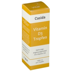 Casida Vitamin D3 Vital 1000 I.E.