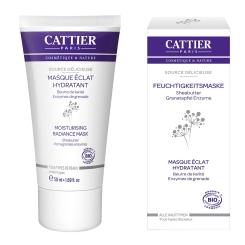 CATTIER Feuchtigkeitsmaske Source Délicieuse – Sheabutter & Granatapfel Enzyme