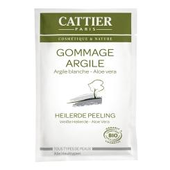 CATTIER Weiße Heilerde Peeling Einmalanwendung