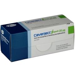 Caverject Impuls 20 µg Zweikammerspritzen