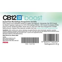 CB12® Boost Eukalyptus Kaugummis