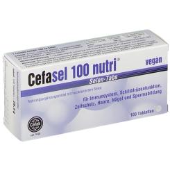 Cefasel 100 nutri® Selen Tabs