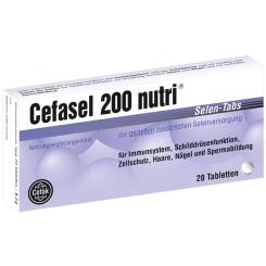 Cefasel 200 nutri® Selen Tabs