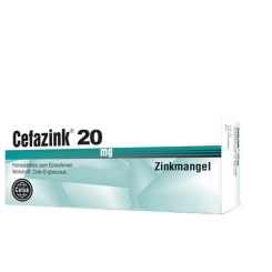Cefazink® 20 mg