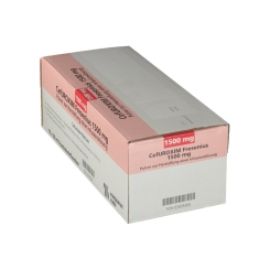 Cefuroxim Fresenius 1500 mg