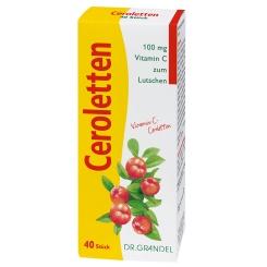 Ceroletten Vitamin C Dr. Grandel