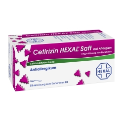Cetirizin HEXAL® Saft bei Allergien, 1 mg/ml Lösung zum Einnehmen
