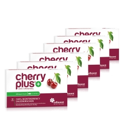 cherry plus+ 100 % Montmorency Sauerkirschen Kapseln