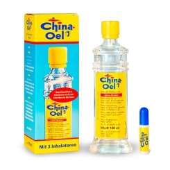 China-Oel mit 3 Inhalatoren