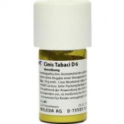 Cinis Tabaci D6 Trituration