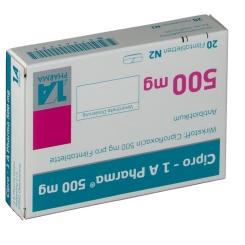 Cipro 1a Pharma 500 mg Filmtabl.