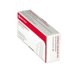 Ciprofloxacin Al 250 mg Filmtabletten