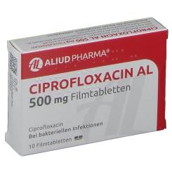 Ciprofloxacin Al 500 mg Filmtabletten