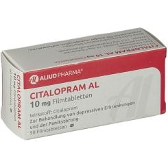 Citalopram Al 10 mg Filmtabletten