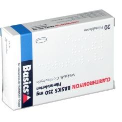CLARITHROMYCIN Basics 250 mg Filmtabletten