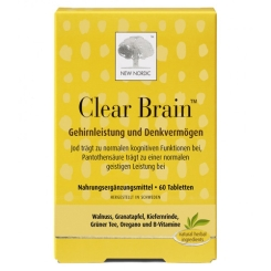 CLEAR BRAIN Tabletten