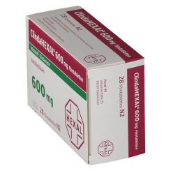 CLINDAHEXAL 600 mg Filmtabletten