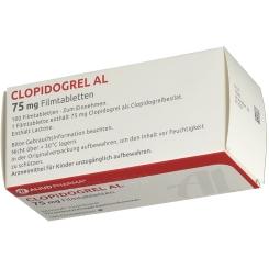 Clopidogrel AL 75 mg Filmtabletten