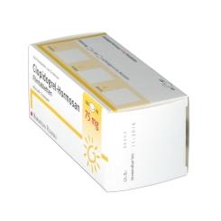 Clopidogrel-Hormosan 75 mg Filmtabletten