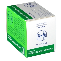 CLOZAPIN HEXAL 200 mg Tabletten