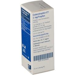 Codeintropfen v. Ct 1 mg Lösung