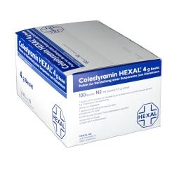 Colestyramin Hexal 4 g Pulver