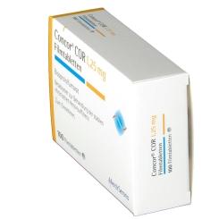 Concor Cor 1,25 mg Filmtabletten