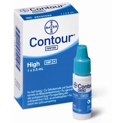 CONTOUR® Kontrolllösung hoch