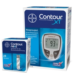 CONTOUR® Sonderedition Diabetes Starterpaket mg/dl