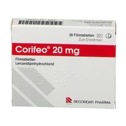Corifeo 20 mg Filmtabl.