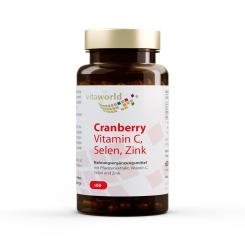 Cranberryextrakt + Vitamin C + Selen + Zink