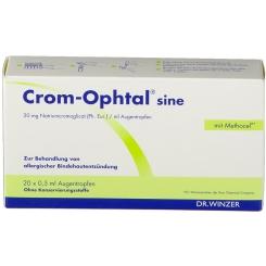Crom-Ophtal® sine Einzeldosenbehältnisse